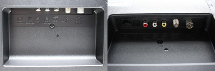 Xiaomi Mi TV 4S Anschluesse unten
