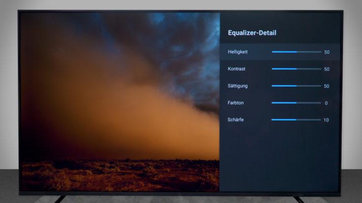 Xiaomi Mi TV 4S Bild-Einstellungen