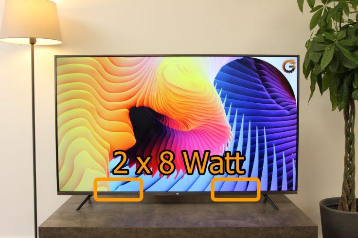 Xiaomi Mi TV 4S Lautsprecher