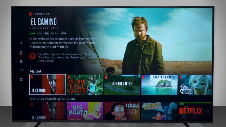 Xiaomi Mi TV 4S Netflix