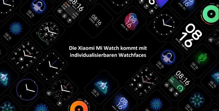 Xiaomi Mi Watch Smartwatch Watchfaces
