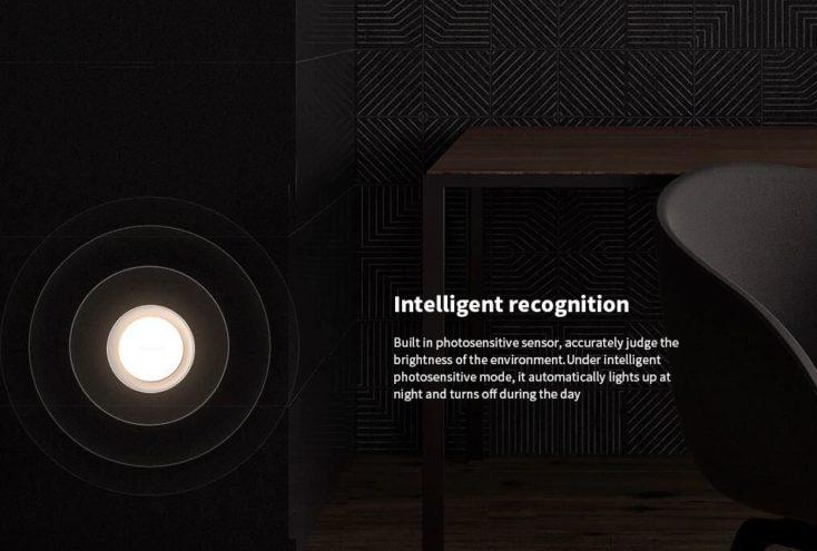 Yeelight Steckdosen-Nachtlicht Photosynthesesensor.