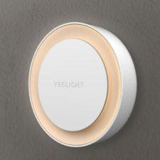 Yeelight Steckdosen-Nachtlicht aus Metall und Kunststoff.
