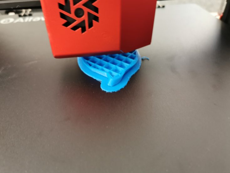 alfawise u20 pro blaues filament