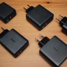Aukey Ladegeräte (PA-D1 ... PA-D5) 3456x3456