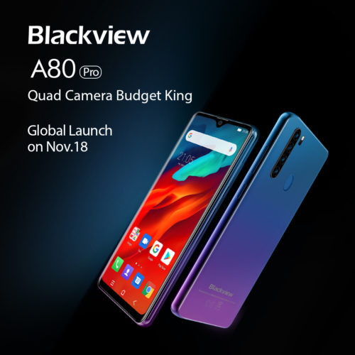 Blackview A80 Pro smartphone