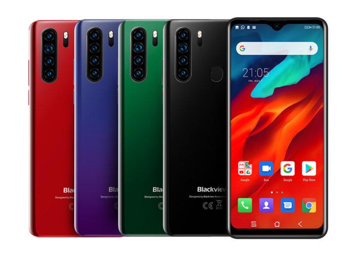 Blackview A80 Pro smartphone Farben