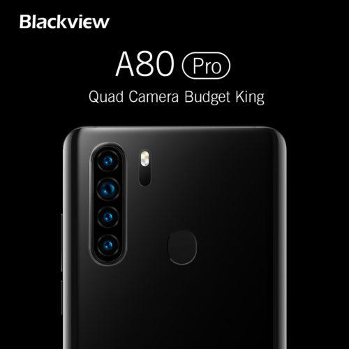 Blackview A80 Pro smartphone Kamera
