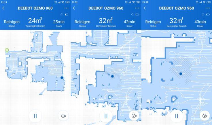 Ecovacs Deebot Ozmo 960 Saugroboter App Mapping Teppicherkennung