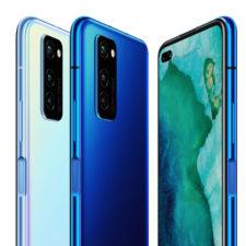 Honor V30 Pro Design Blau