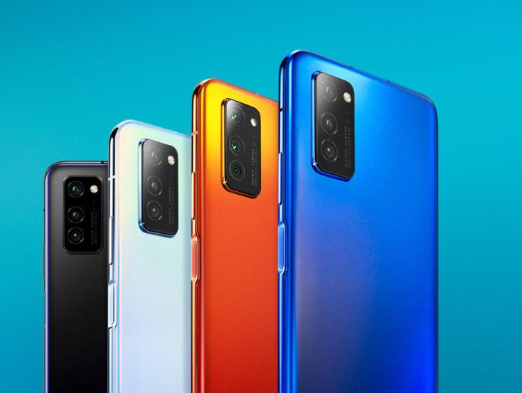 Honor V30 Pro Smartphone Farben
