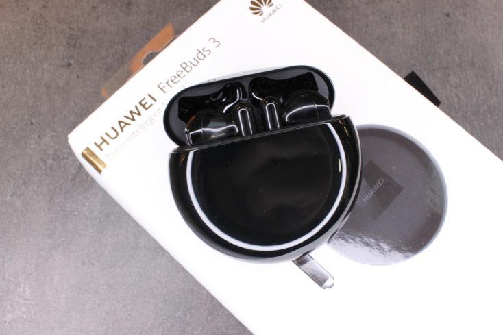 Huawei FreeBuds 3 mit Verpackung