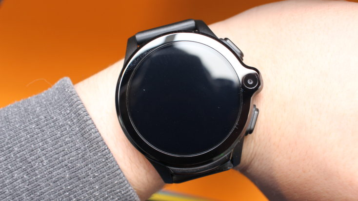 Kospet Prime 4G Smartwatch am Arm.