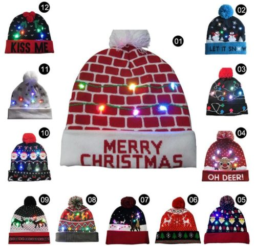 LED Weihnachtsmütze