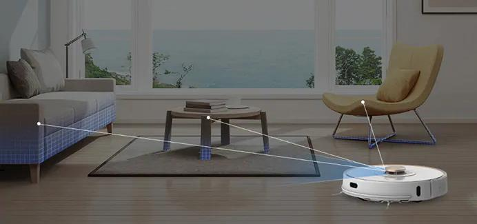 Lenovo Saugroboter Laser-Raumvermessung