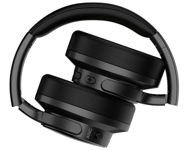 Mixcder E9 Bluetooth Kopfhörer eingeklappt