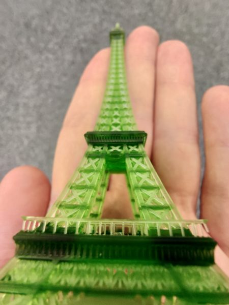 Nova3D Elfin Eiffelturm 3D Druck