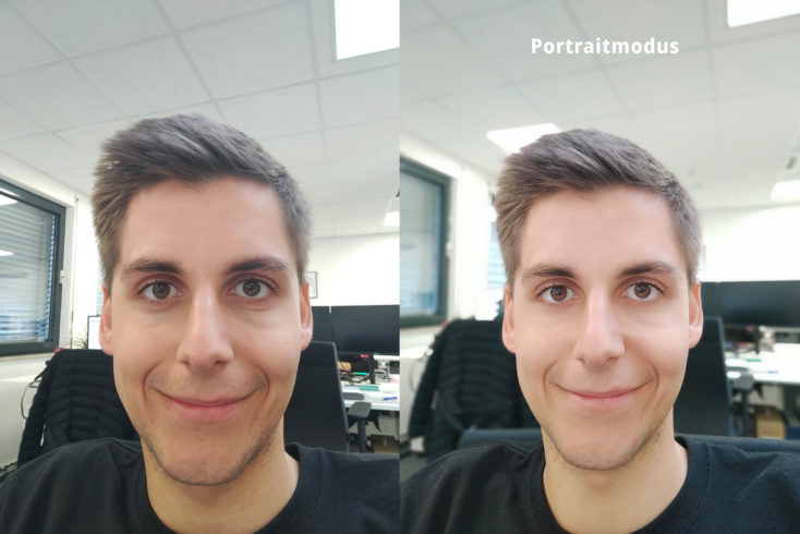 Realme X2 Pro Frontkamera Testfoto Portrait Vergleich