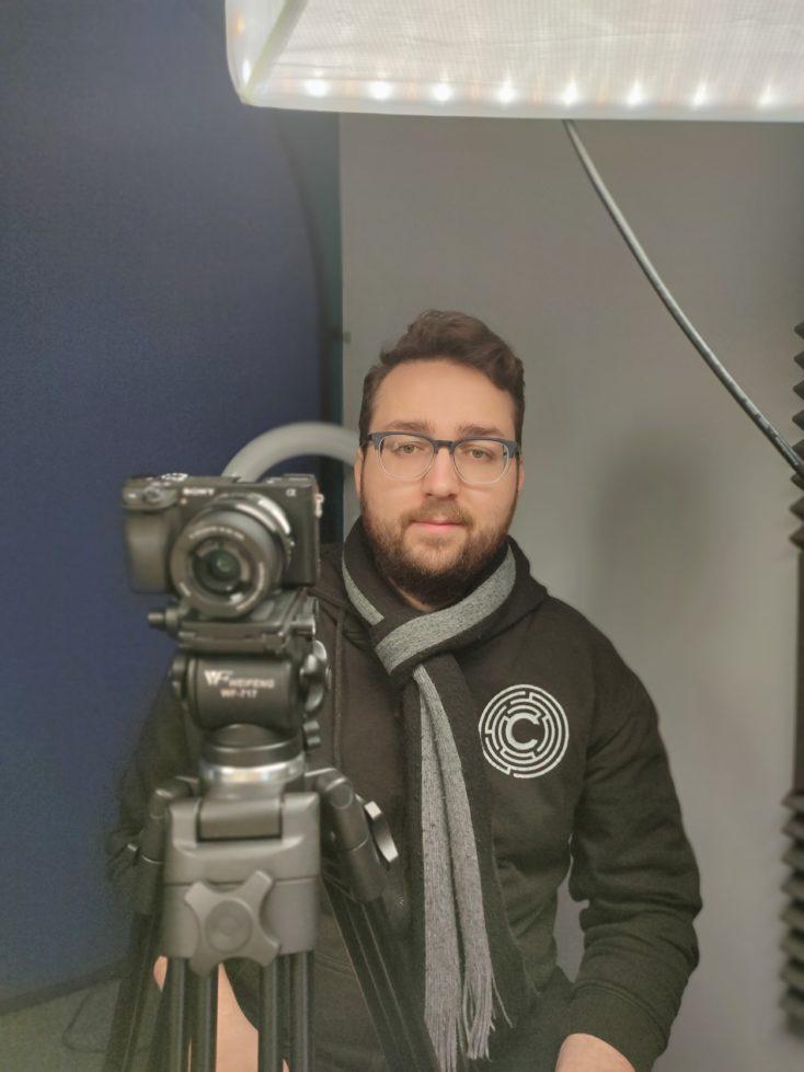 Realme X2 Pro Portrait Foto Vordergrund