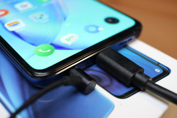 Realme X2 Pro Smartphone USB C Anschluss