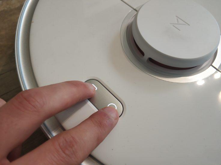 Roborock S5 Max Saugroboter Buttons WLAN-Verbindung