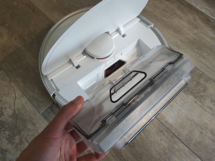Roborock S5 Max Saugroboter Staubkammer