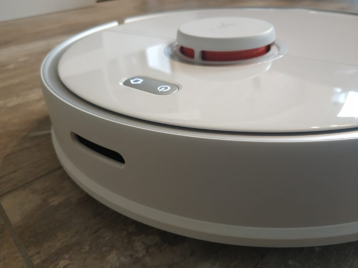 Roborock S5 Max Saugroboter Vorderseite