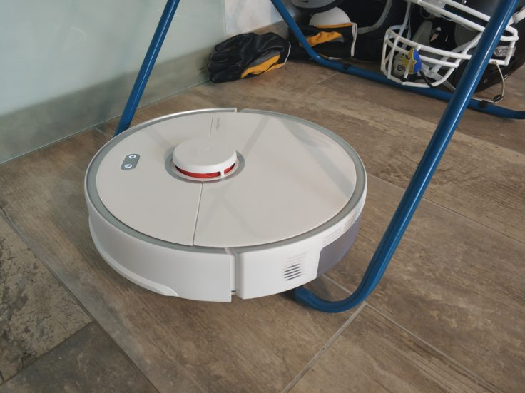 Roborock S5 Max Saugroboter Wäscheständer