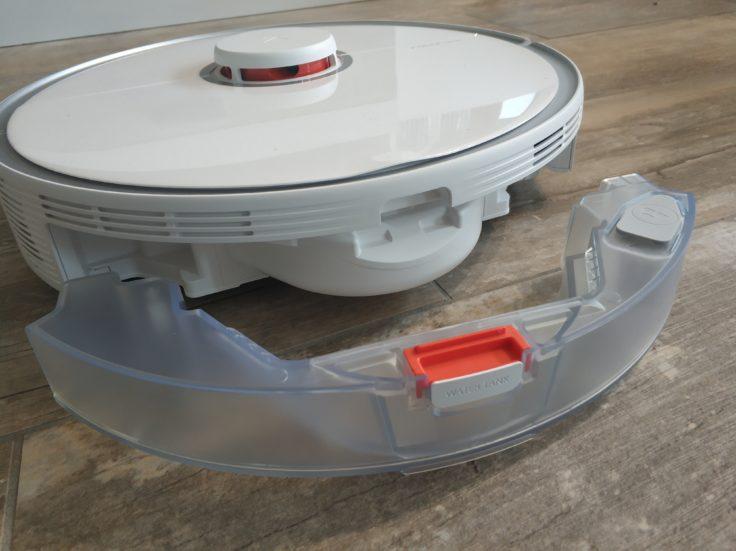 Roborock S5 Max Saugroboter Wassertank Unterseite