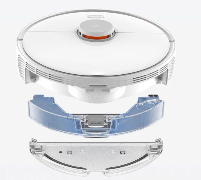 Roborock S5 Max Saugroboter elektrischer Wassertank Zusammensetzung