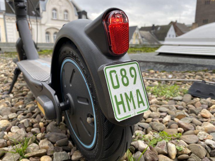 Segway-Ninebot MAX G30D Versicherungskennzeichen