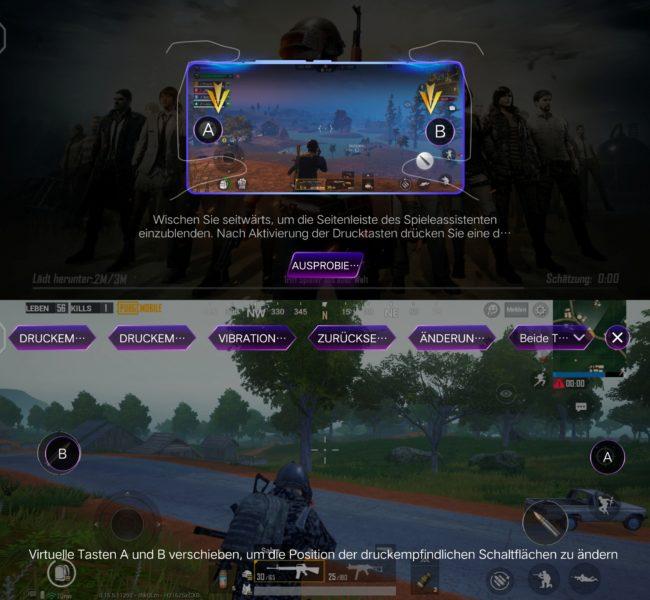 Vivo iQOO Pro Ultra Game Mode Schulterstaten