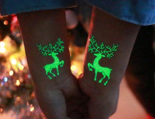 WeihnachtlicheKlebetattoos