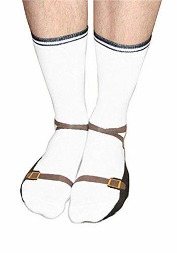 Wichtelgeschenke Sandalen Socken