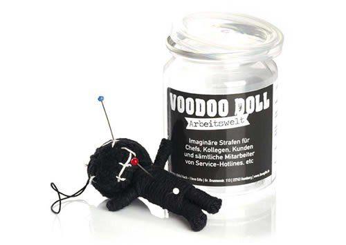 Wichtelgeschenke Voodoo Puppe