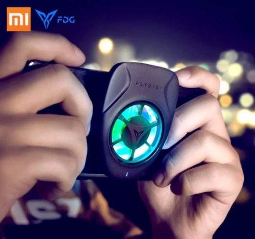 Xiaomi Flydigi Smartphone Luefter RGB Farben