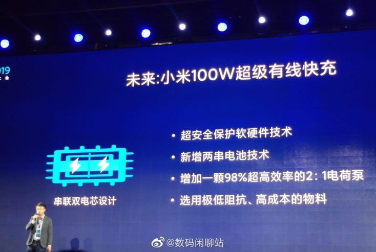 Xiaomi Super Charge Turbo 100W Prasentation