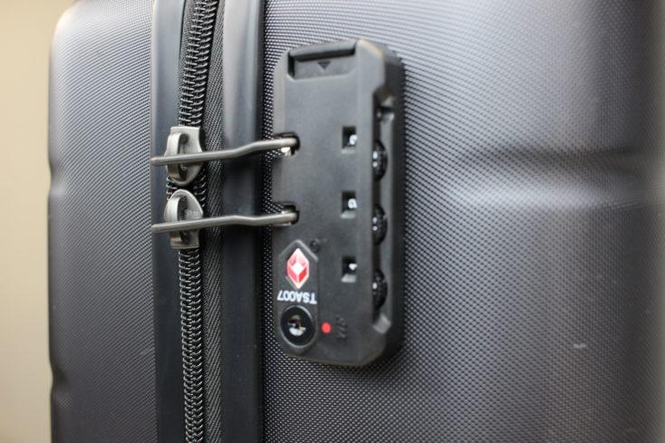 Xiaomi 20 Zoll Koffer TSA Schloss 2