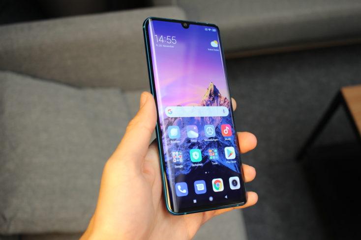 Xiaomi Mi Note 10 Curved Display