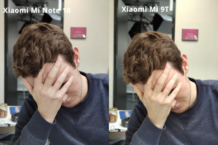 Xiaomi Mi Note 10 Hauptkamera Portrait Vergleich Scharfe