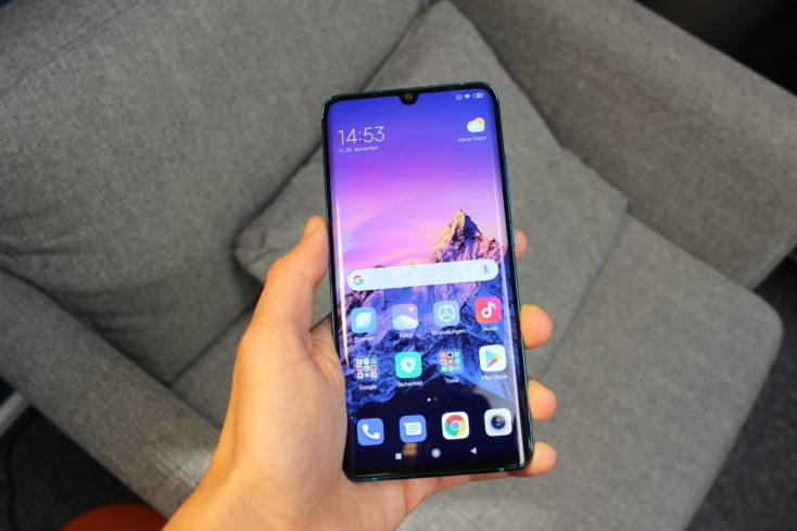 Xiaomi Mi Note 10 Smartphone Display 2