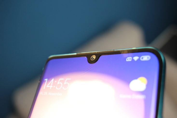 Xiaomi Mi Note 10 Smartphone Notch Fehler