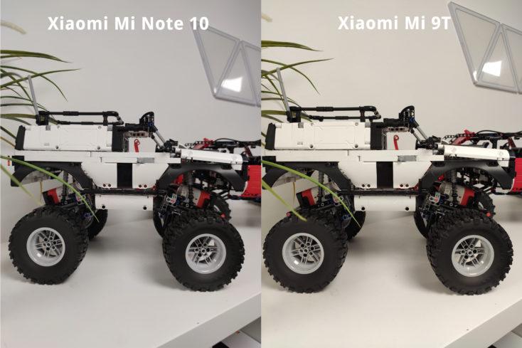 Xiaomi Mi Note 10 Vergleich 9T Truck