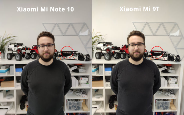 Xiaomi Mi Note 10 vs. Mi 9T Scharfe Vergleich