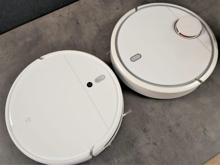 Xiaomi Mi Robot 1C Saugroboter Design Vergleich Mi Robot