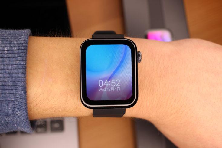 Xiaomi Mi Watch Smartwatch am Handgelenk