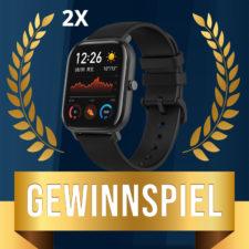 Amazfit GTS Gewinnspiel Beitragsbild