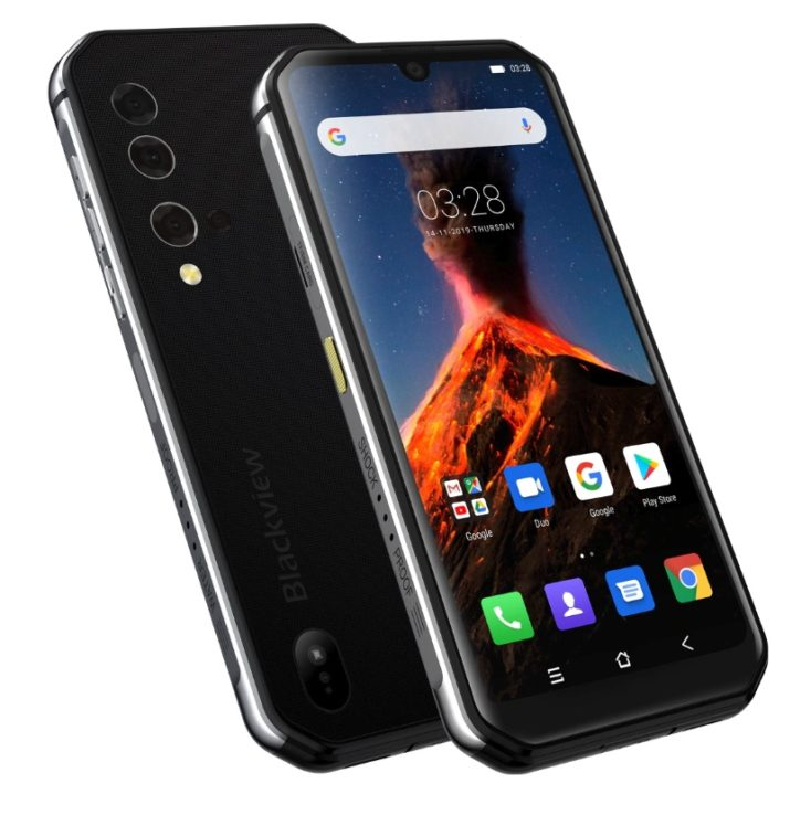 Blackview BV9900 Outdoor-Smartphone Design