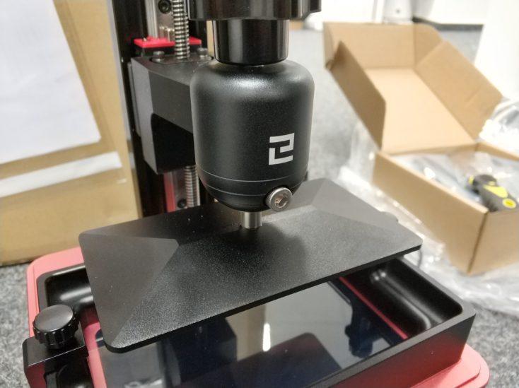 Elegoo Mars Pro Druckplatte 2