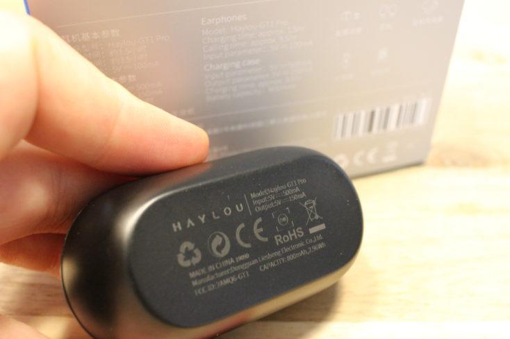 Haylou GT1 Pro CE Kennzeichen